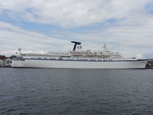 M/S Princess Danae in Travemünde