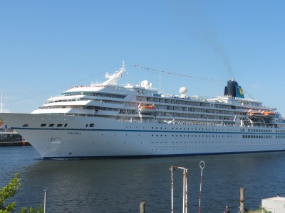 M/S Amadea in Travemünde